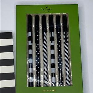 kate spade Office - Kate Spade Note Pad & Pen Set - NEW
